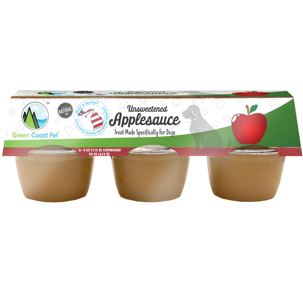 Green Coast Pet Unsweetened Applesauce for Dogs (6 Pack) im test