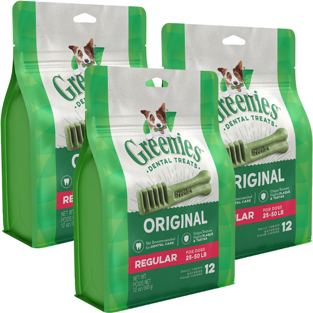 Greenies - Regular 3-Pack (36 Bones) im test