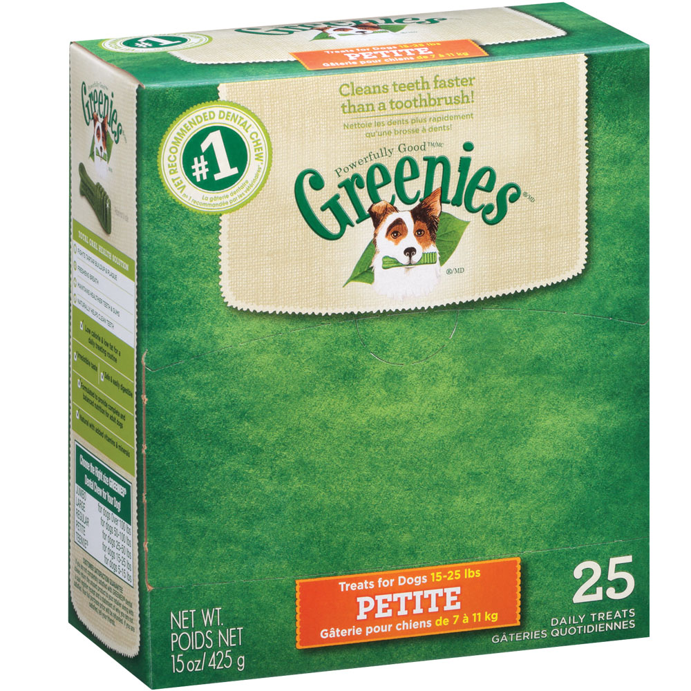 Greenies - BOX PETITE (25 Bones) im test