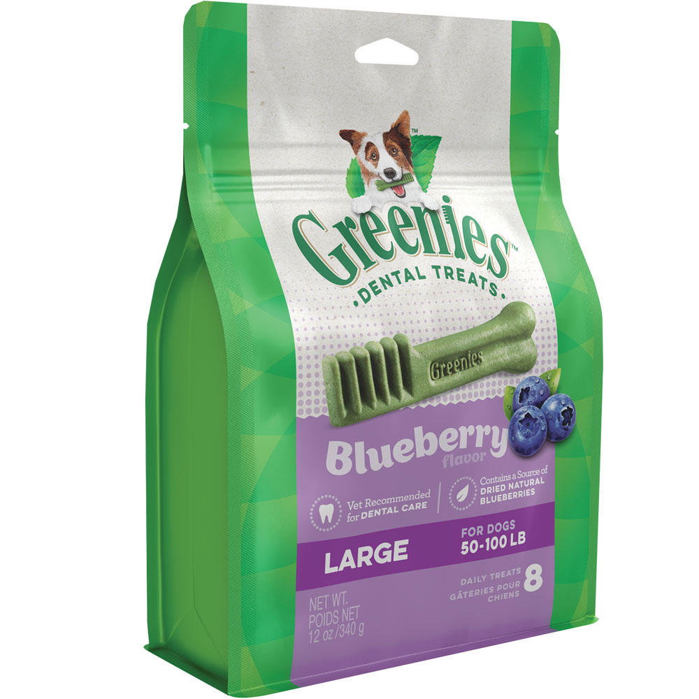 Greenies Blueberry - Large 12oz (8 Bones) im test