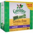 Greenies Grain Free - Large 36oz (24 Bones)