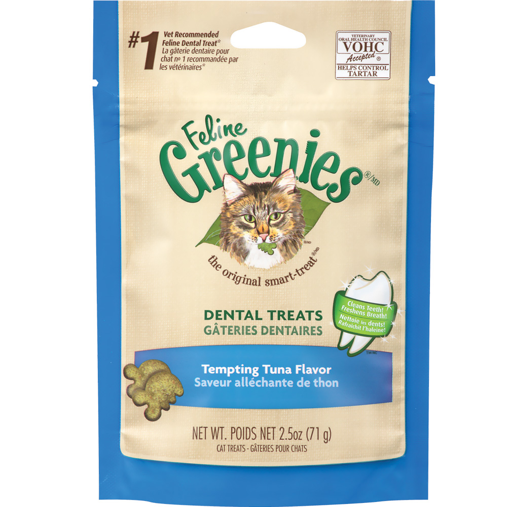 Greenies Feline Dental Treats - Tempting Tuna Flavor (2.5 oz) im test