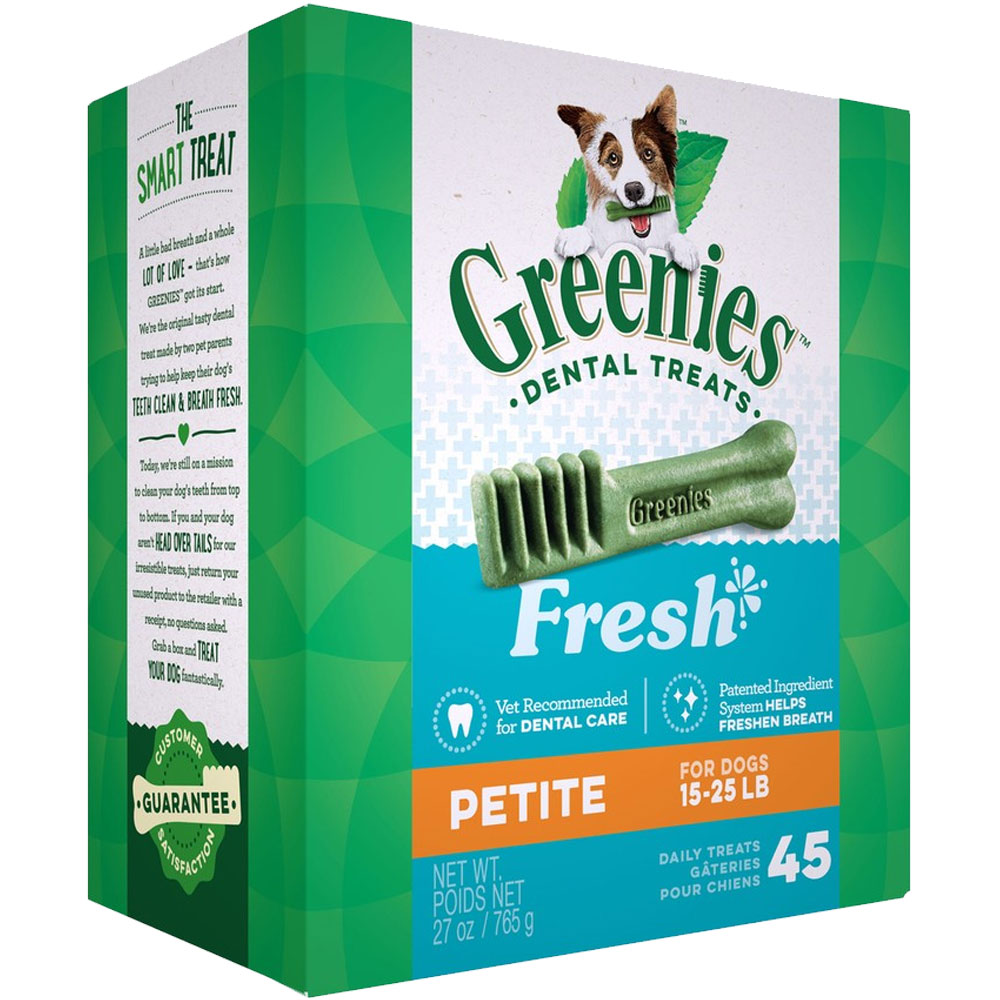 Greenies Fresh - Petite 27oz (45 Bones) im test