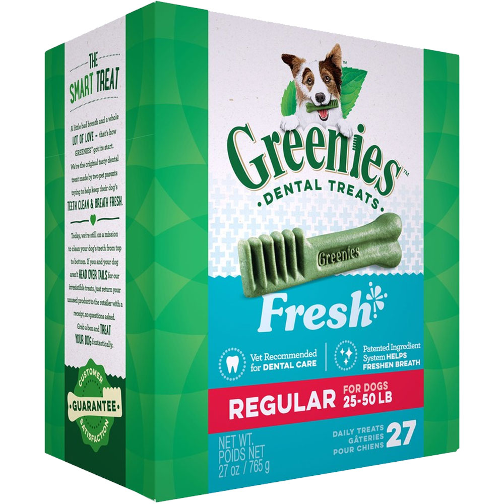 Greenies Fresh - Regular 27oz (27 Bones) im test