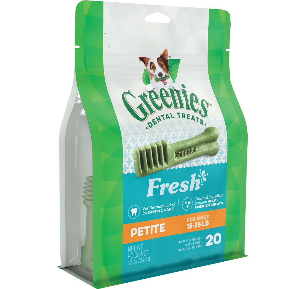 Greenies Fresh - Petite 12 oz (20 Bones) im test