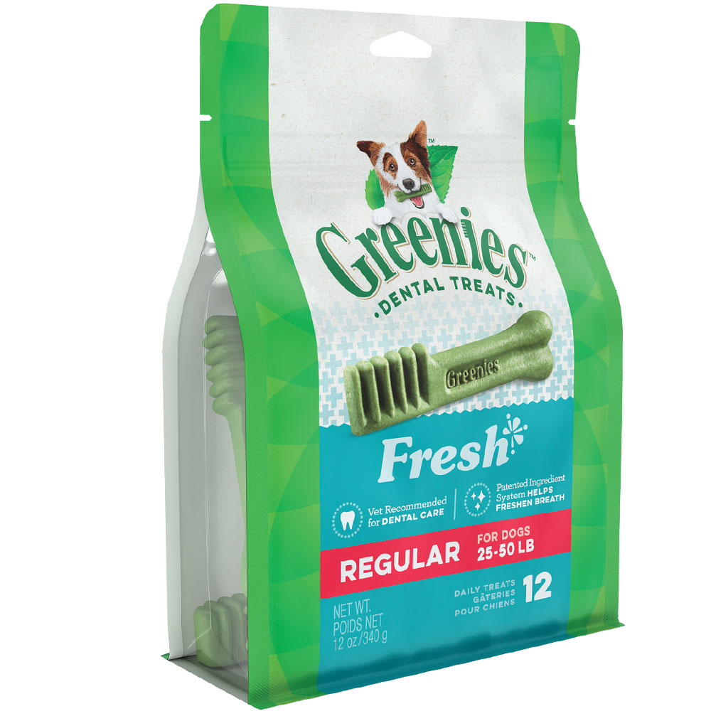 Greenies Fresh - Regular 12oz (12 Bones) im test