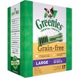 Greenies Grain Free - Large 27oz (17 Bones)