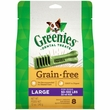 Greenies Grain Free - Large 12oz (8 Bones)
