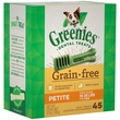 Greenies Grain Free - Petite 27oz (45 Bones)