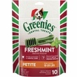 Greenies Holiday Freshmint - Petite 6oz (10 Bones)