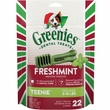 Greenies Holiday Freshmint - Teenie 6oz (22 Bones)