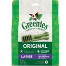Greenies Original Dental Chew Dog Treats - Large 12oz (8 Bones)