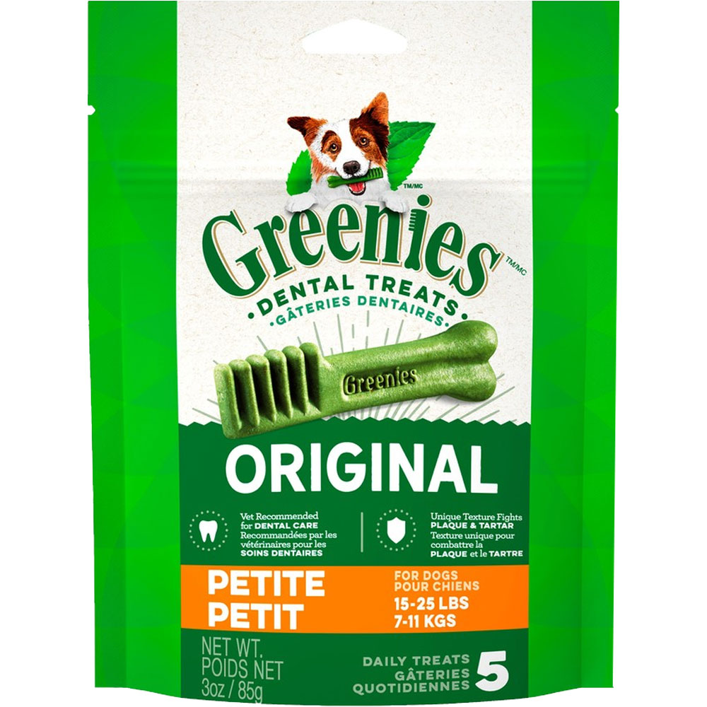 Greenies - Petite 3oz (5 Bones) im test