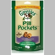 Greenies Pill Pockets Duck & Pea Allergy Formula for Dogs (2.6 oz)