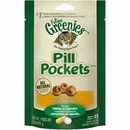 GREENIES Pill Pockets for Cats Chicken Formula 1.6 oz (45 count)