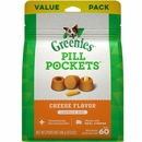 Greenies Pill Pockets Capsule Dog Treats - Cheese Flavor 15.8 oz (60 count)