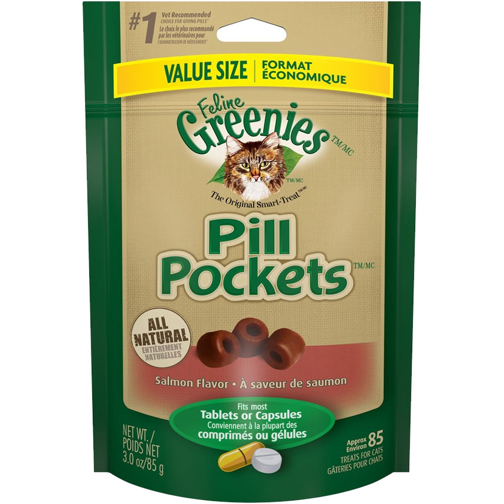 Greenies Pill Pockets Value Size - Salmon Flavor 3 oz (85 count) im test