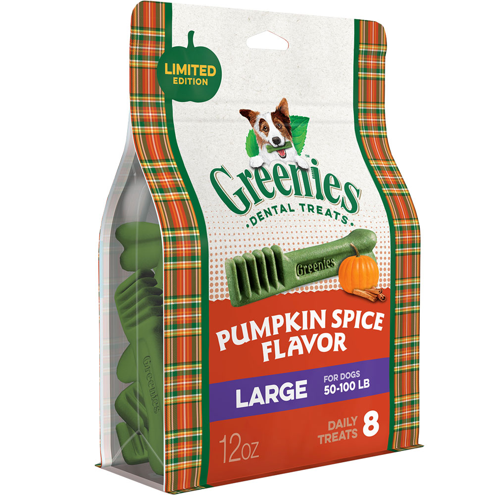 Greenies Pumpkin Spice - Large 12oz (8 Bones) im test