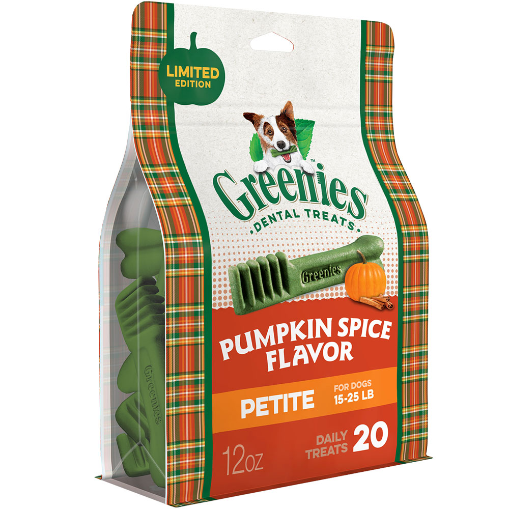 Greenies Pumpkin Spice - Petite 12oz (20 Bones) im test