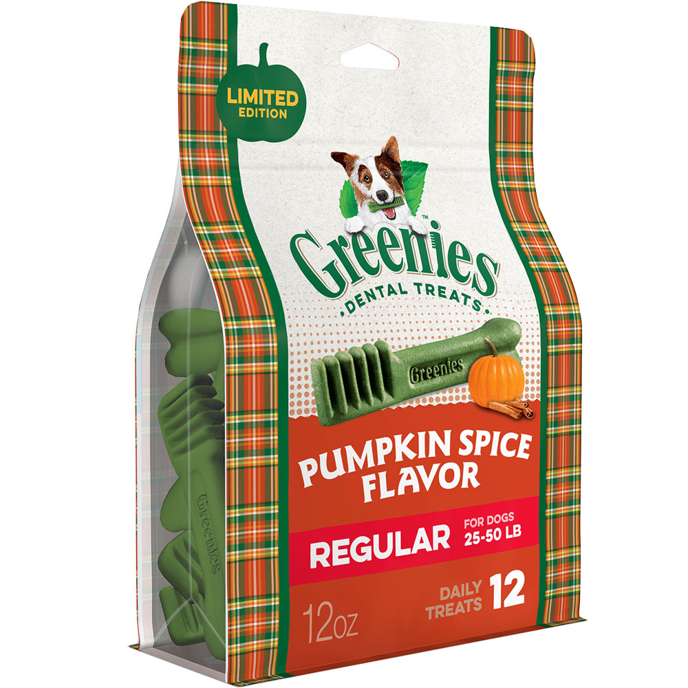 Greenies Pumpkin Spice - Regular 12oz (12 Bones) im test