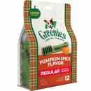 GREENIES Pumpkin Spice Flavor - REGULAR (12 count)
