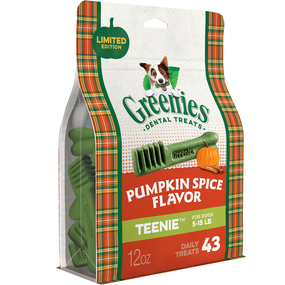 Greenies Pumpkin Spice - Teenie 12oz (43 Bones) im test