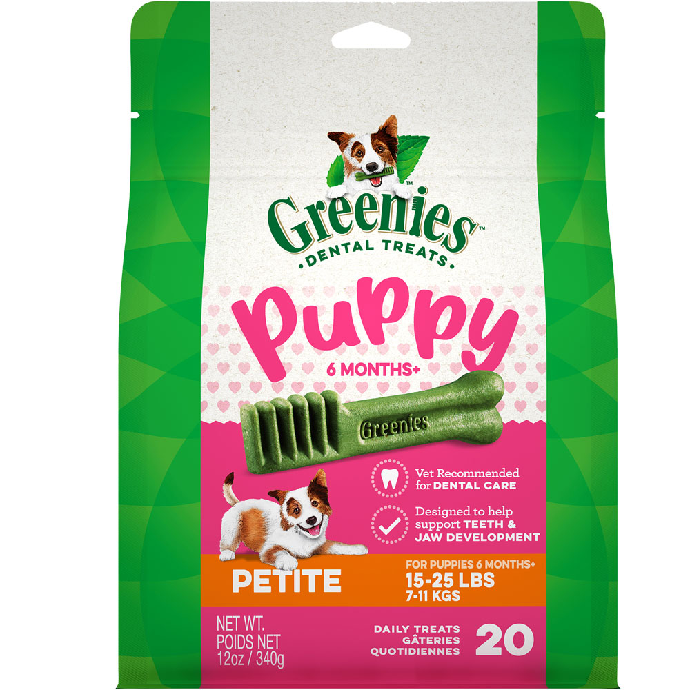 Greenies Puppy 6+ Months - Petite 12oz (20 Bones) im test