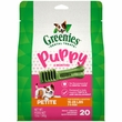 Greenies Puppy 6+ Months - Petite 12oz (20 Bones)