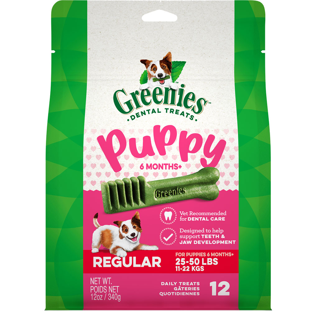 Greenies Puppy 6+ Months - Regular 12oz (12 Bones) im test