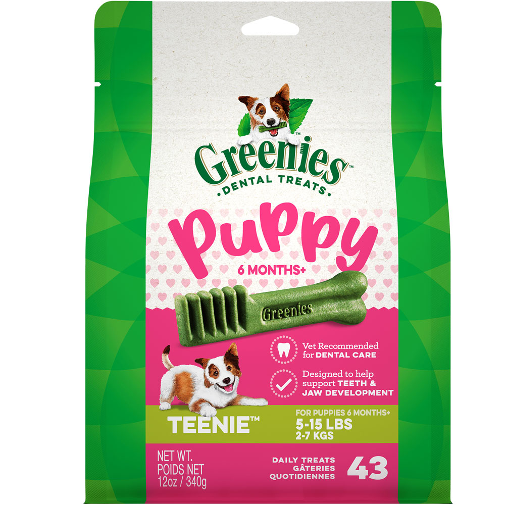 Greenies Puppy 6+ Months - Teenie 12oz (43 Bones) im test