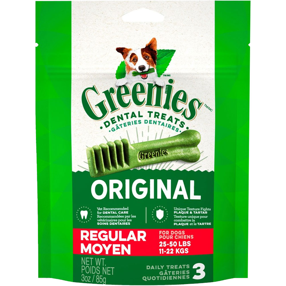 Greenies - Regular 3oz (3 Bones) im test