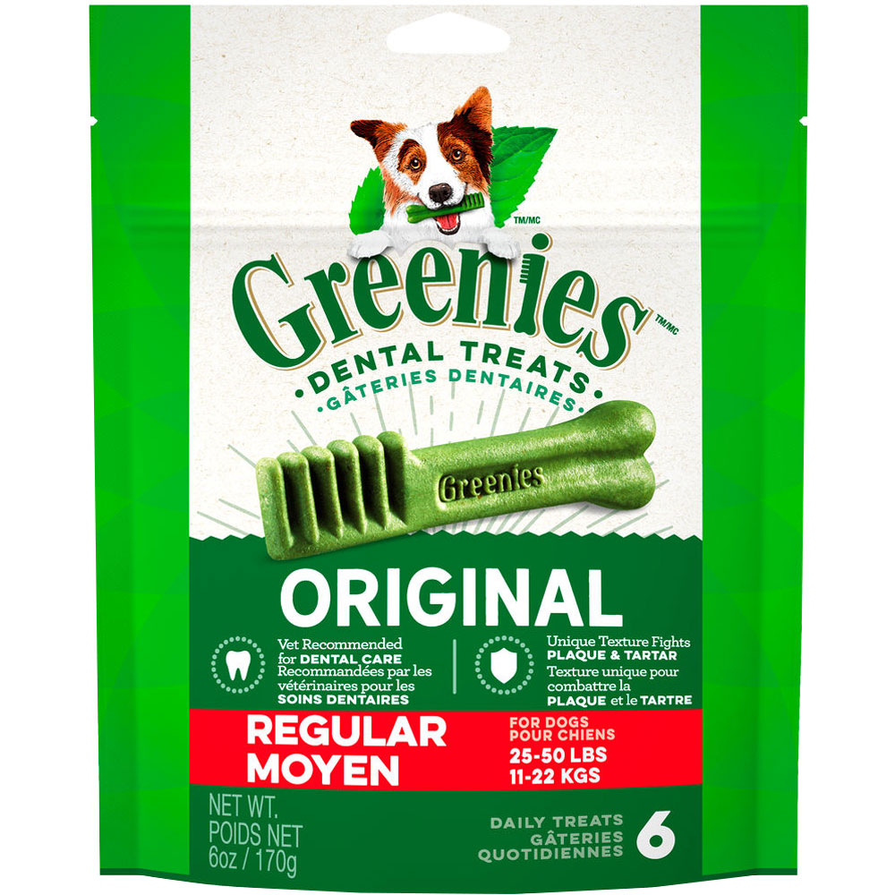 Greenies - Regular 6oz (6 Bones) im test