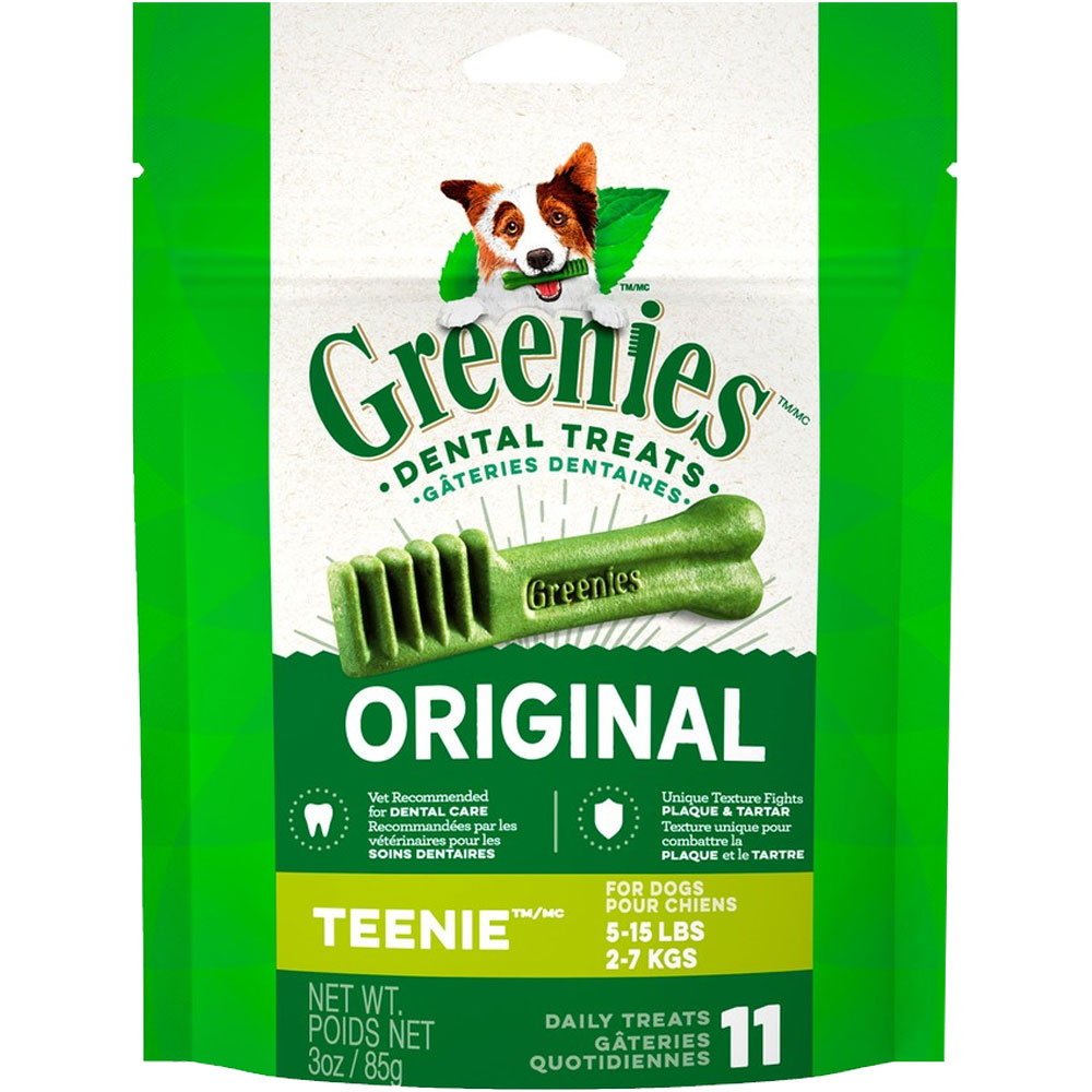 Greenies - Teenie 3oz (11 Bones) im test