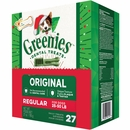 Greenies Treat Tub-Pak Canister Regular 27 oz. (27 Bones)