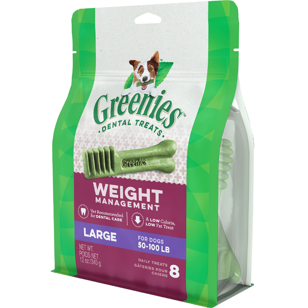 Greenies Weight Management - LARGE (8 Bones) 12oz im test