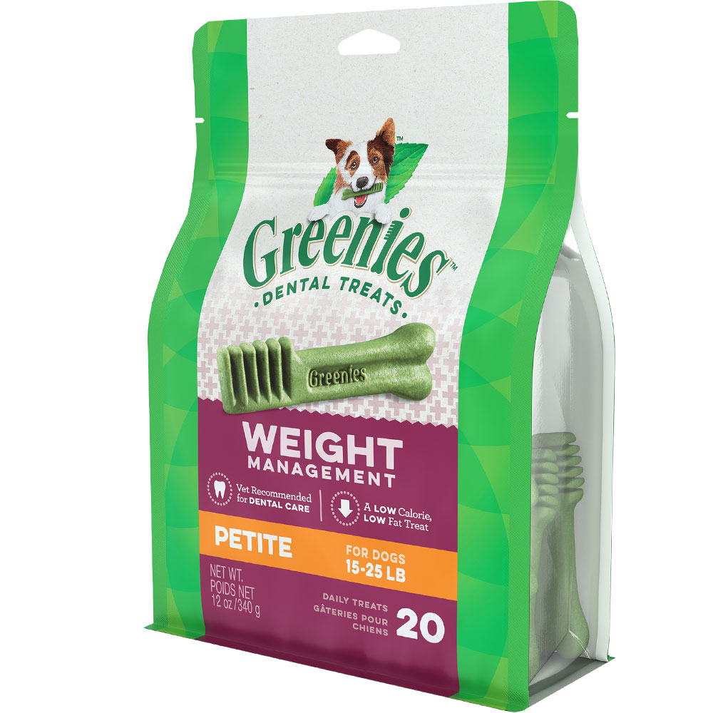 Greenies Weight Management - PETITE (20 Bones) 12oz im test