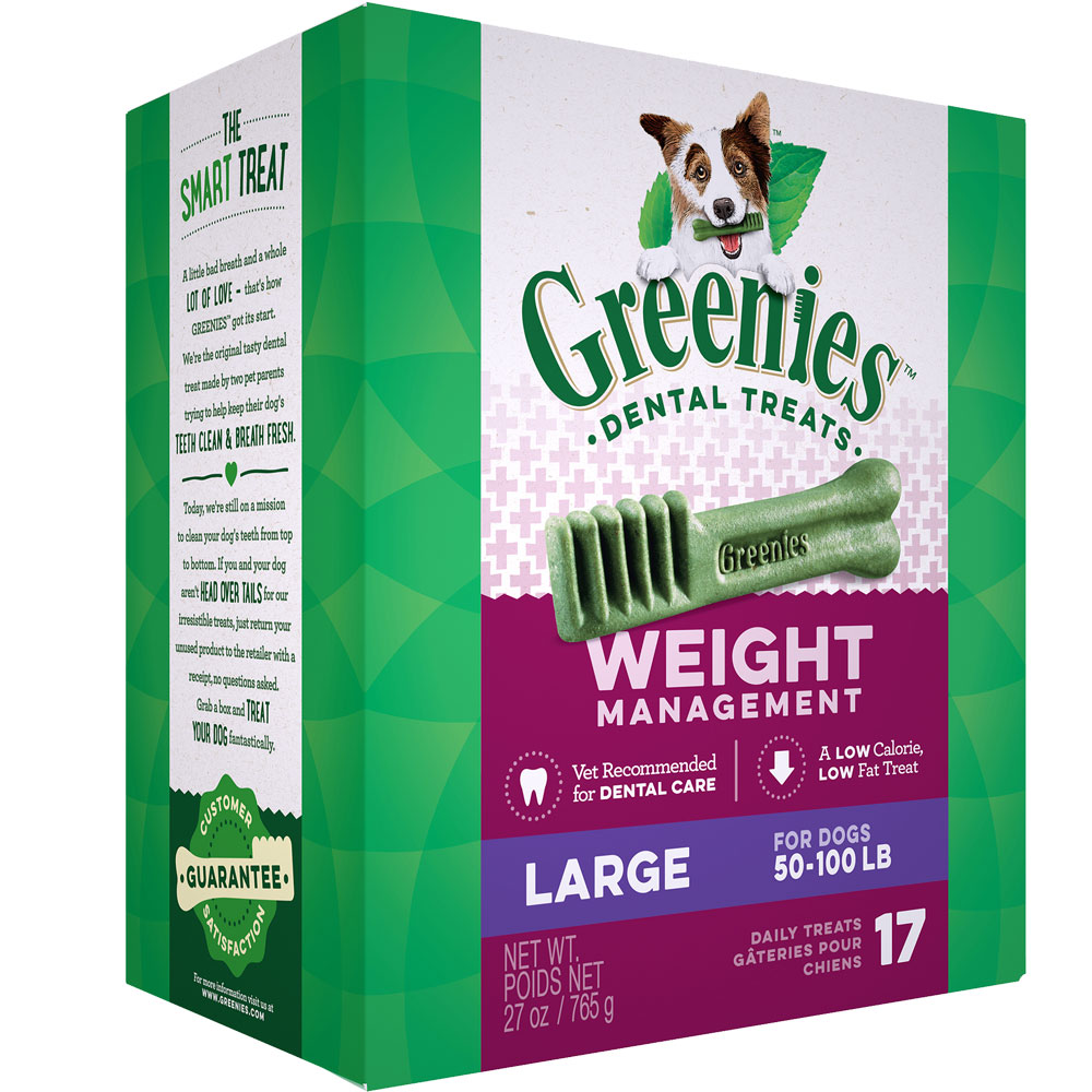 Greenies Weight Management - Large 27oz (17 Bones) im test