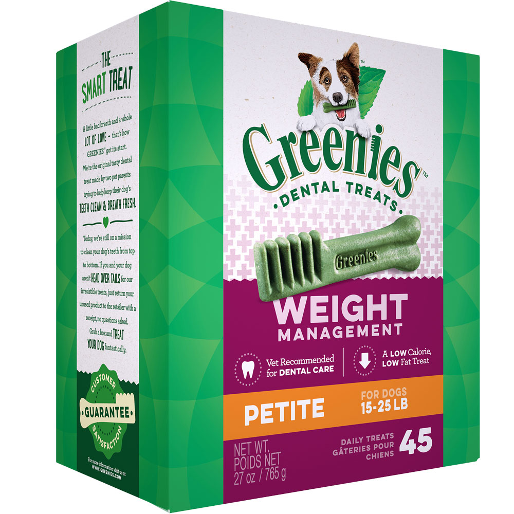 Greenies Weight Management - Petite 27oz (45 Bones) im test