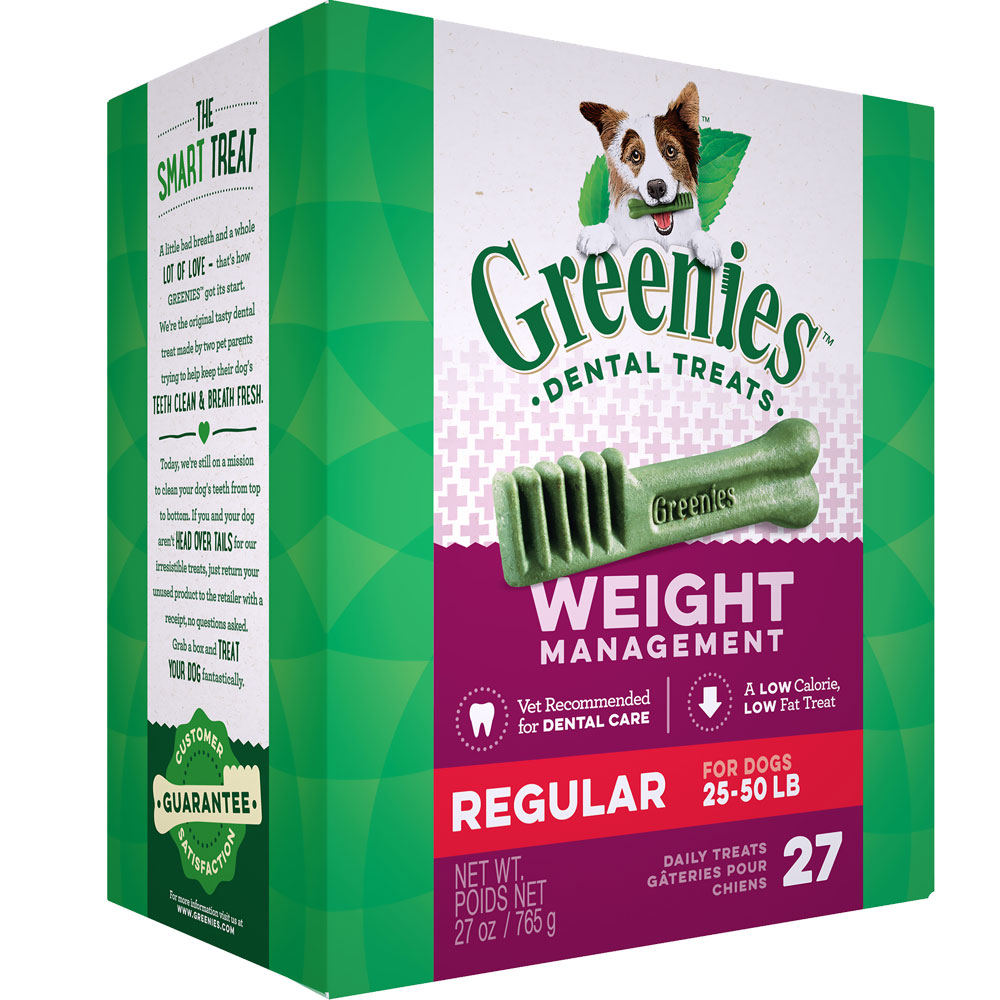 Greenies Weight Management - Regular 27oz (27 Bones) im test