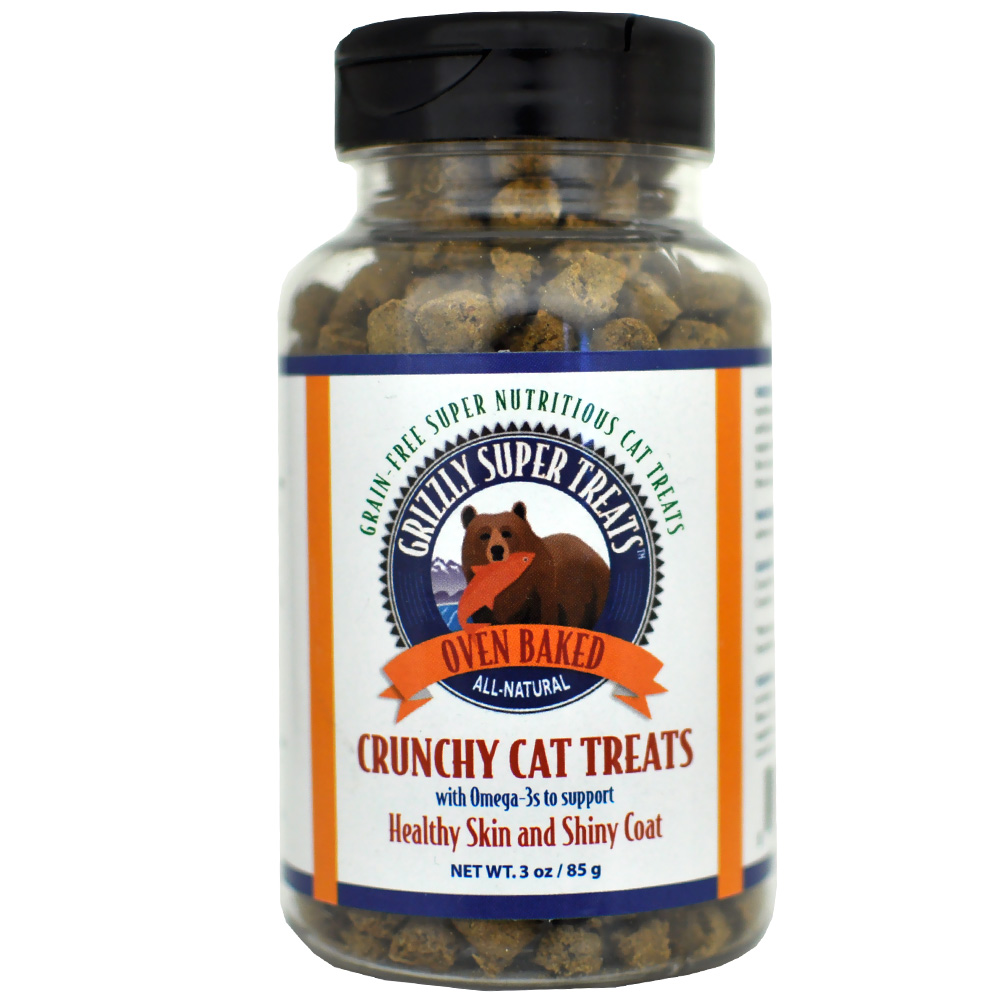 Grizzly Crunchy Cat Treats (3 oz) im test