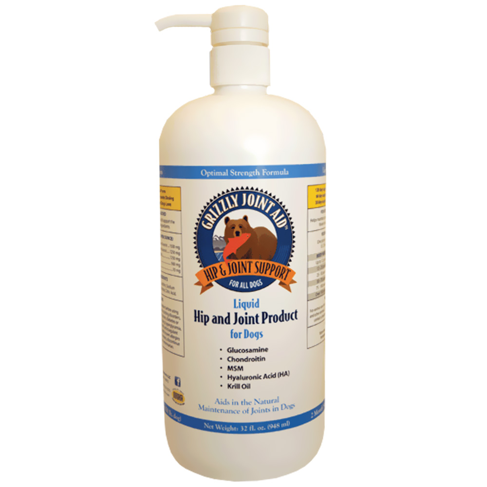 Image of Grizzly Joint Aid Liquid Form for Dogs (32 oz)
