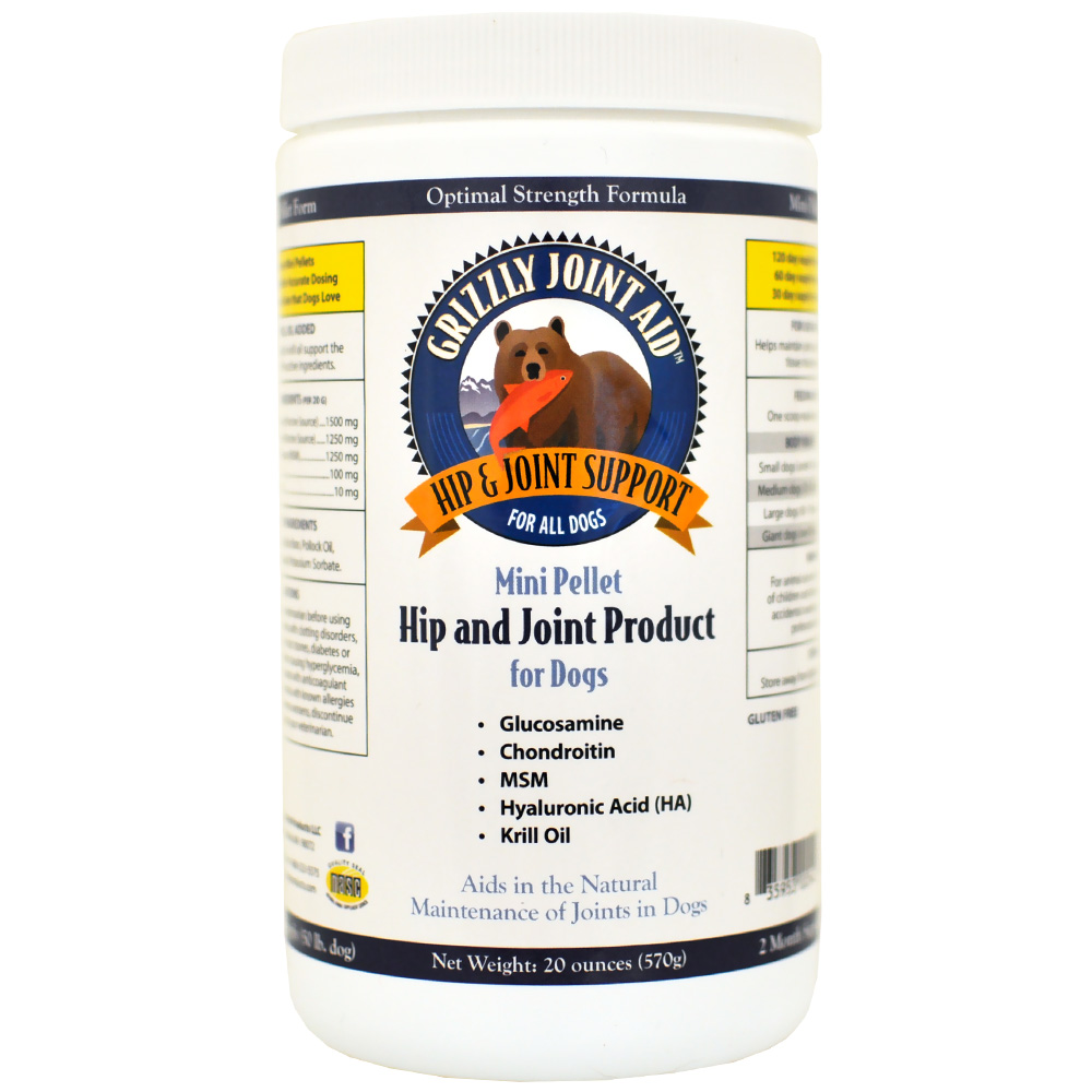 Grizzly Joint Aid Mini Pellet Hip & Joint for Dogs (20 oz) im test