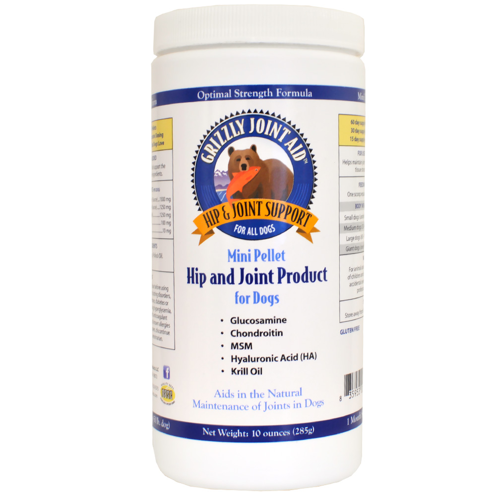 Grizzly Joint Aid Mini Pellet Hip & Joint for Dogs (10 oz) im test