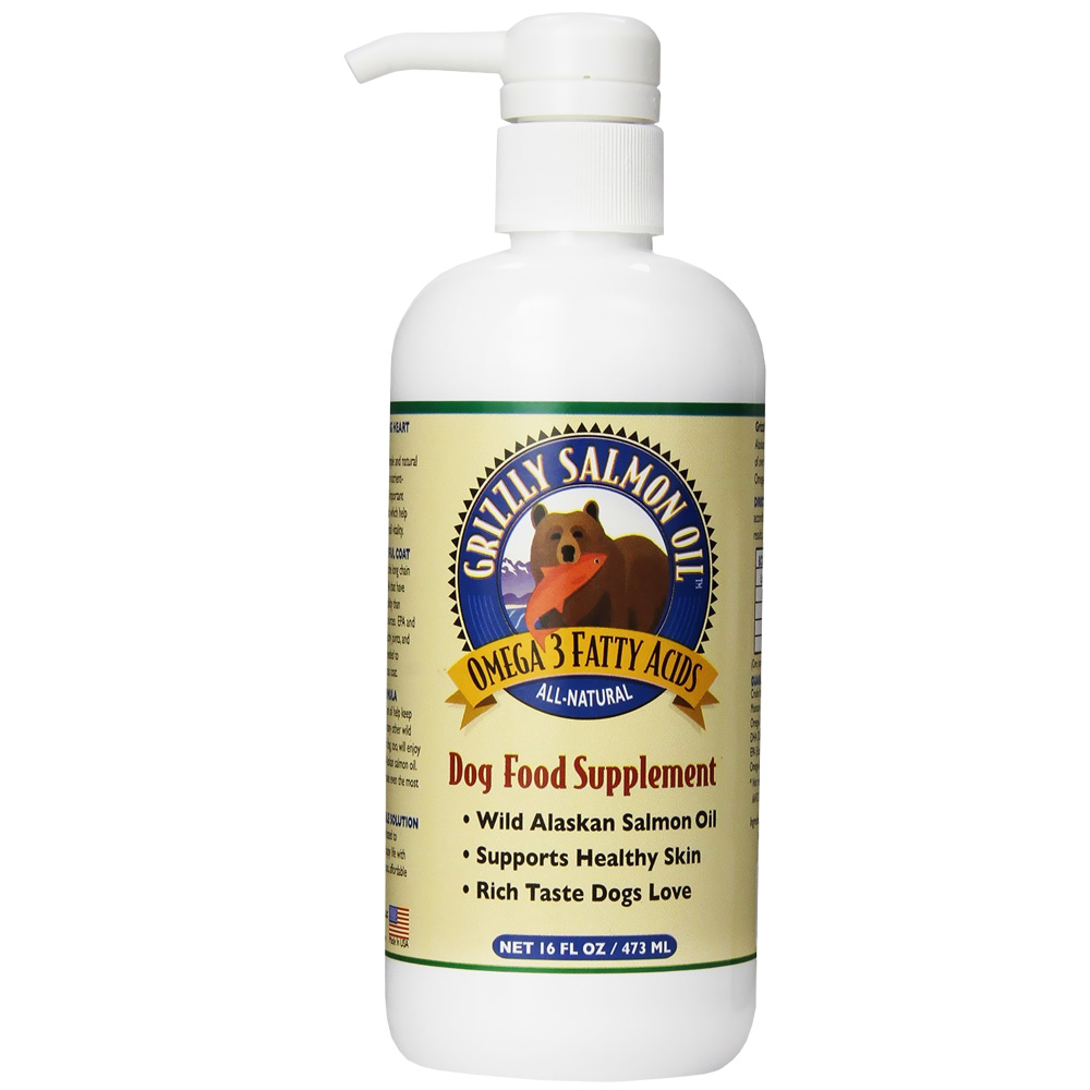 Grizzly Salmon Oil for Dogs (16 oz) im test