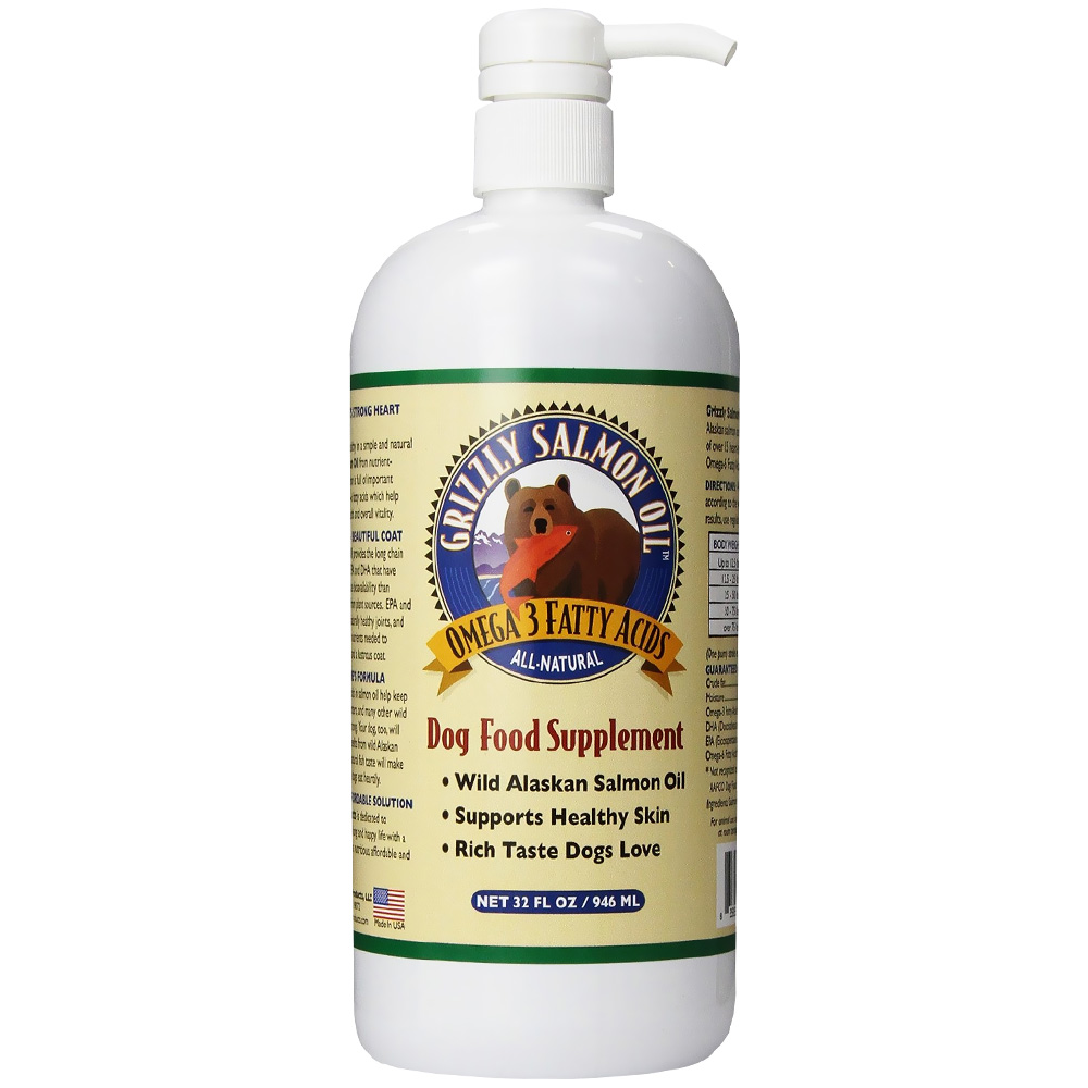 Grizzly Salmon Oil for Dogs (32 oz) im test