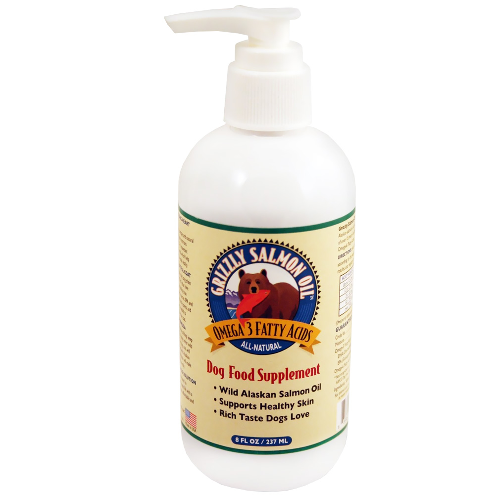 Grizzly Salmon Oil for Dogs (8 oz) im test
