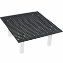 "Groomer's Best Tub Raised Floor Grate - 24""x24""x12"""