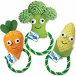 Grriggles Happy Veggies Rope Tug Corn