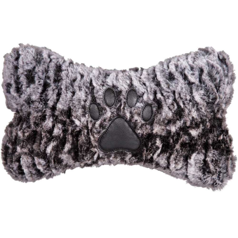 GRRIGGLES-LUXE-FAUX-FUR-BONE-BROWN-SMALL