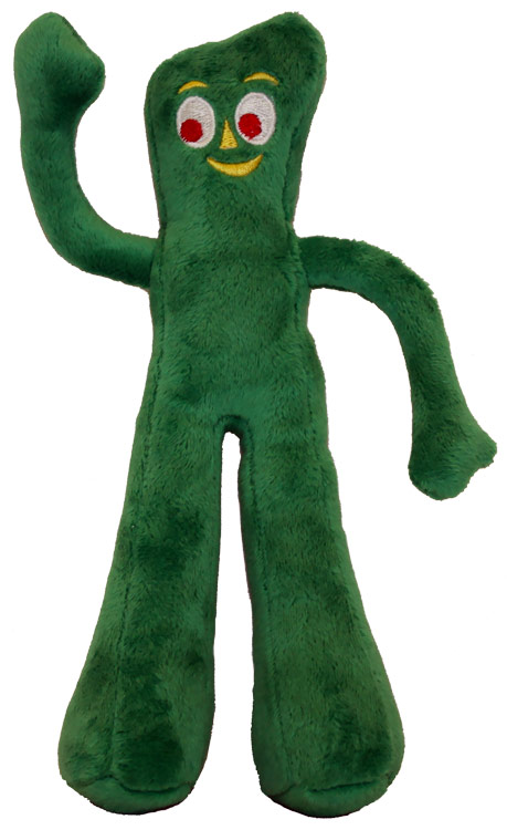 Multipet Gumby Plush Dog Toy (9 inch) im test